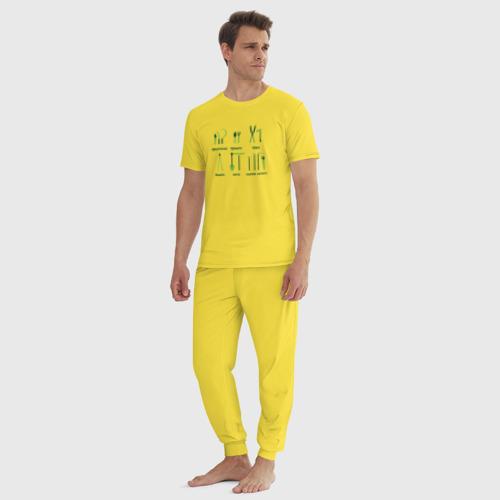 Мужская пижама хлопок Дачник 6 Фото 01