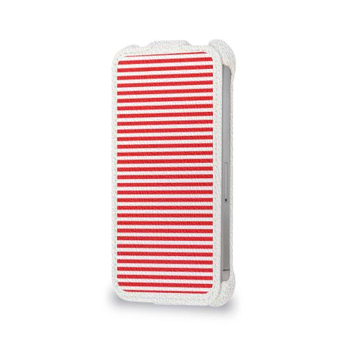 Чехол для Apple iPhone 4/4S flip  Фото 06, Тельняшка ВВ и герб РФ