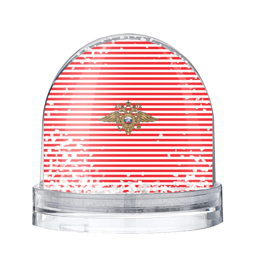 Водяной шар со снегом  Фото 01, Тельняшка ВВ и герб МВД