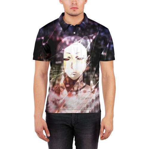 Мужская рубашка поло 3D  Фото 03, Tokyo Ghoul