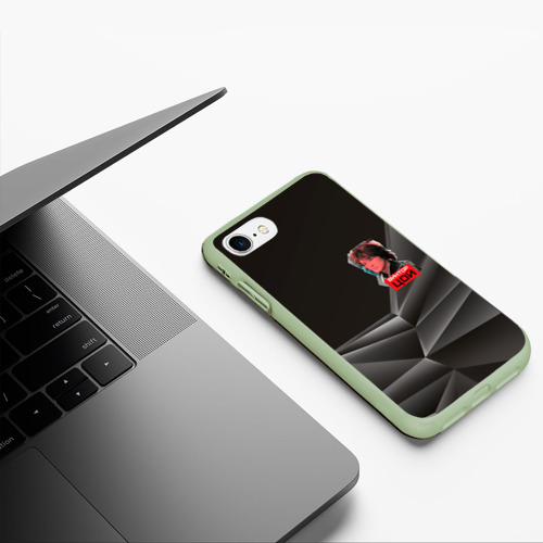 Чехол для iPhone 7/8 матовый Виктор Цой Фото 01