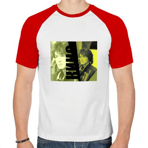 Мужская футболка реглан  Фото 01, Виктор Цой