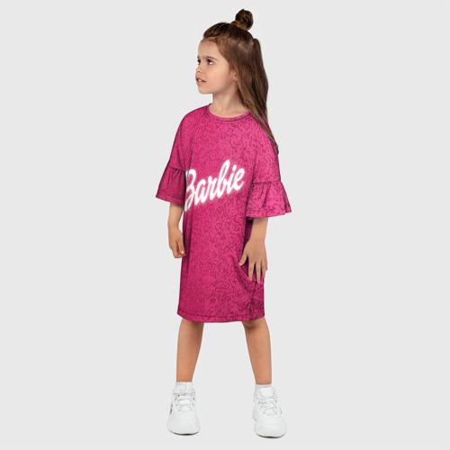 Детское платье 3D  Фото 03, Барби 7