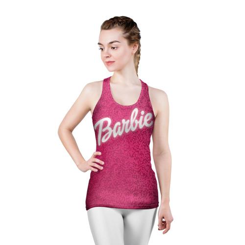 Женская майка 3D спортивная Барби 7 Фото 01