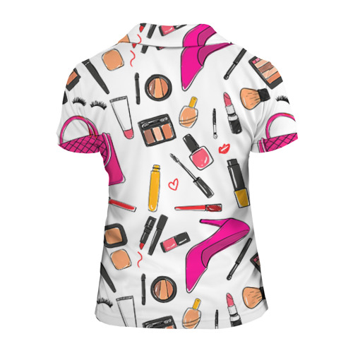 Женская рубашка поло 3D  Фото 02, Барби 9