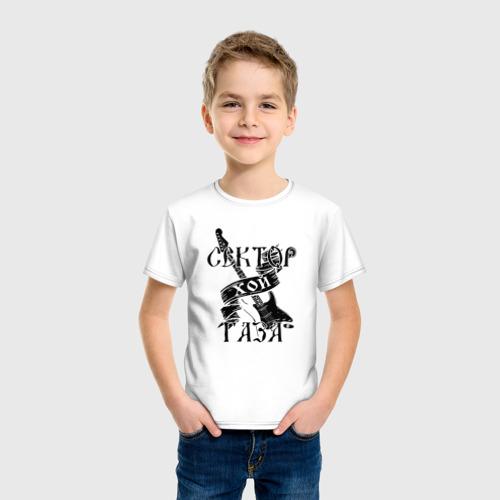 Детская футболка хлопок Сектор газа 4 Фото 01