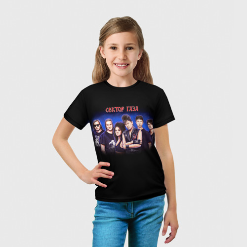 Детская футболка 3D  Фото 03, Сектор газа 7
