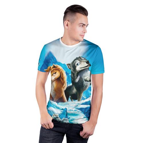 Мужская футболка 3D спортивная  Фото 03, Альфа и Омега 8