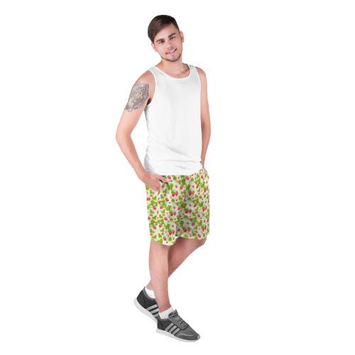 Мужские шорты 3D  Фото 03, Клубничка