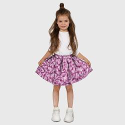 Розовый камуфляж с туфлями