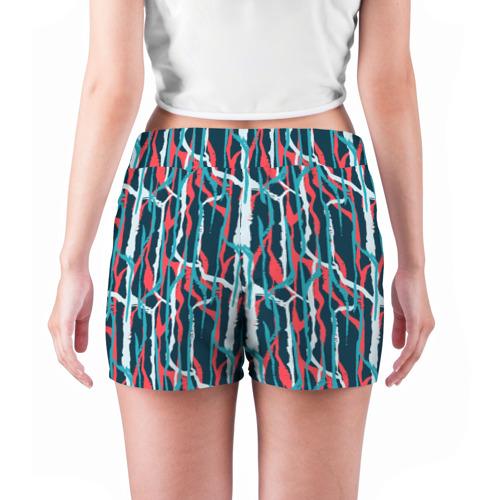 Женские шорты 3D  Фото 04, Graffiti