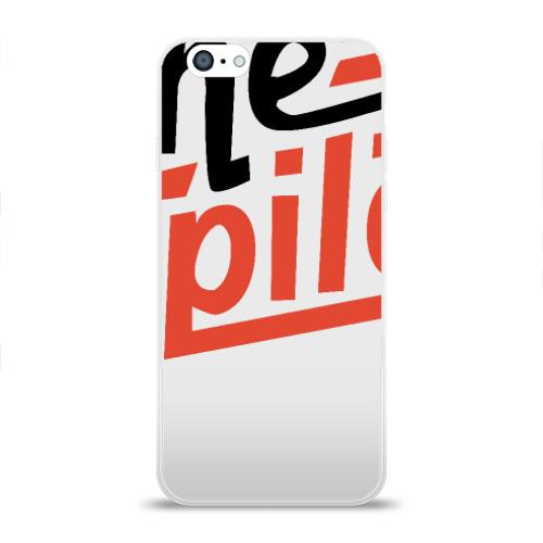 Чехол для Apple iPhone 6 силиконовый глянцевый  Фото 01, Twenty One Pilots