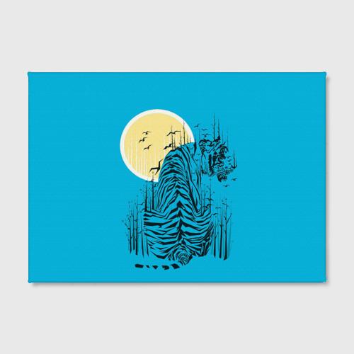 Холст прямоугольный  Фото 02, тигр