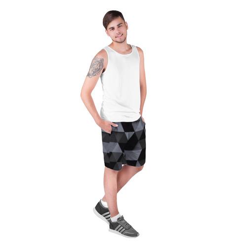 Мужские шорты 3D  Фото 03, Геометрия