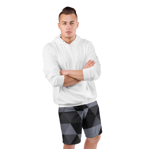 Мужские шорты 3D спортивные  Фото 05, Геометрия