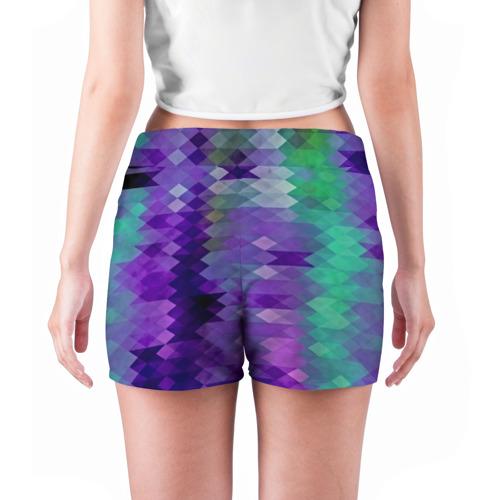 Женские шорты 3D  Фото 04, Мозаика
