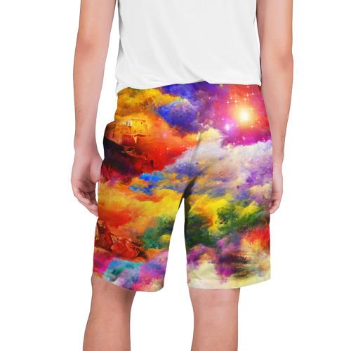 Мужские шорты 3D  Фото 02, Живописный пейзаж