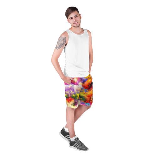 Мужские шорты 3D  Фото 03, Живописный пейзаж