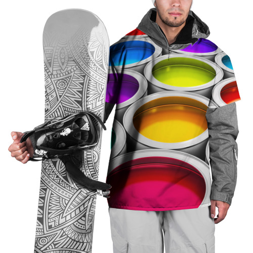 Накидка на куртку 3D  Фото 01, Краски