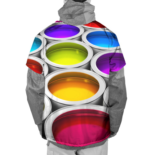 Накидка на куртку 3D  Фото 02, Краски