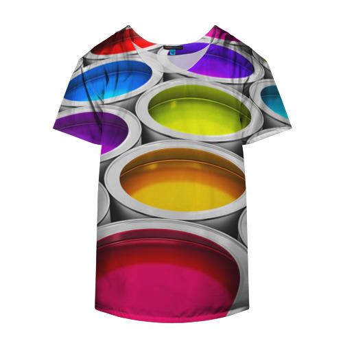 Накидка на куртку 3D  Фото 04, Краски