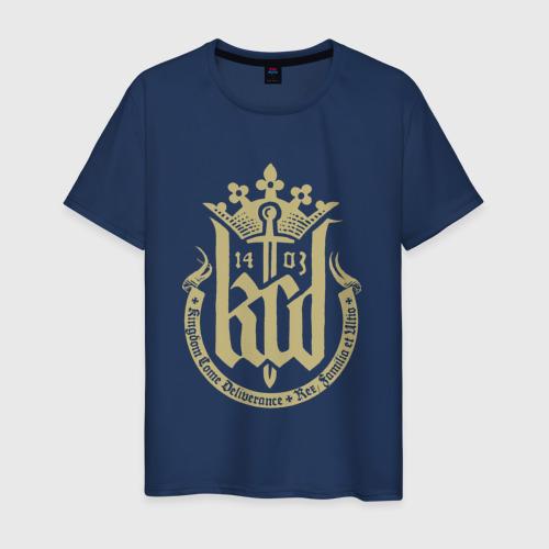 Мужская футболка хлопок Kingdom Come Deliverance Фото 01