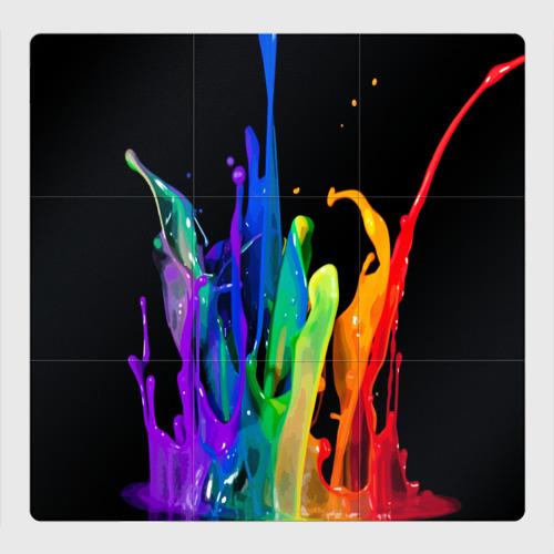 Магнитный плакат 3Х3 Краски