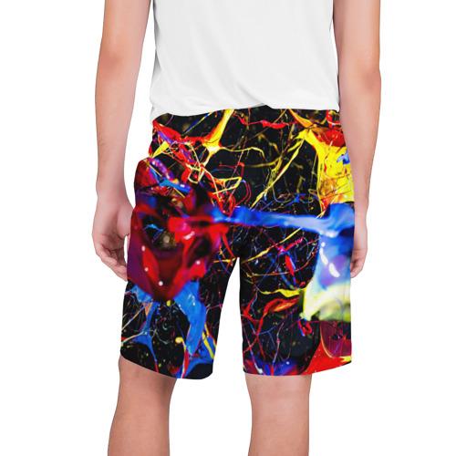 Мужские шорты 3D  Фото 02, Краски