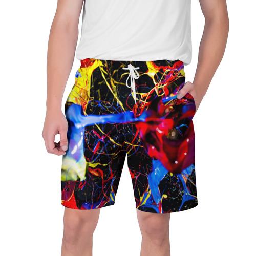Мужские шорты 3D  Фото 01, Краски