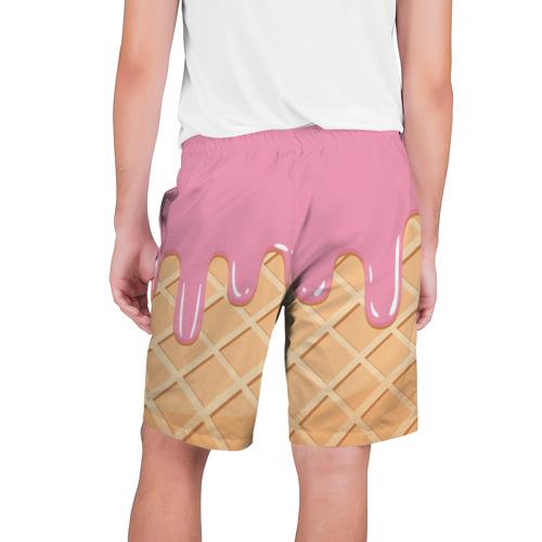 Мужские шорты 3D  Фото 02, Я Клубничный Рожок