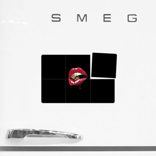 Магнитный плакат 3Х2  Фото 02, Пуля в зубах