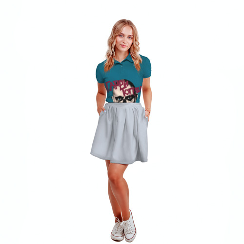 Женская рубашка поло 3D  Фото 04, Гарри Топор