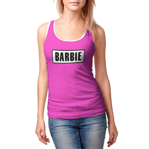 Женская майка 3D  Фото 03, Barbie
