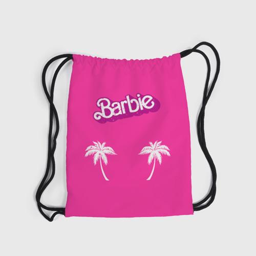 Рюкзак-мешок 3D  Фото 03, Barbie пальмы