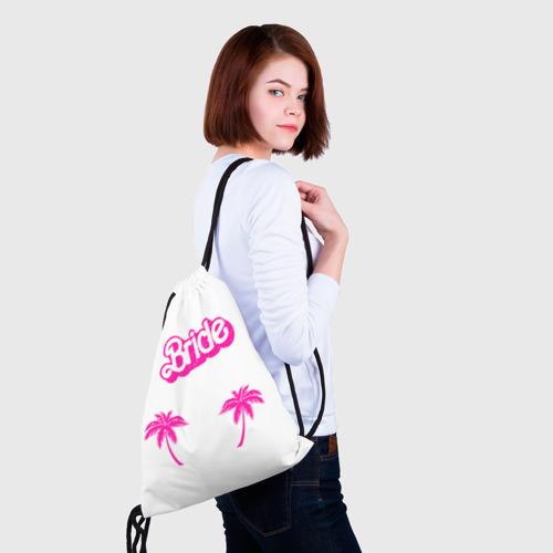Рюкзак-мешок 3D  Фото 02, Bride пальмы