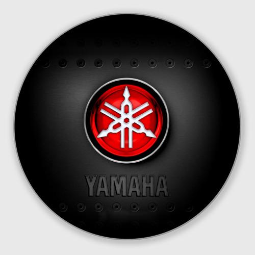 Коврик для мышки круглый Yamaha Фото 01