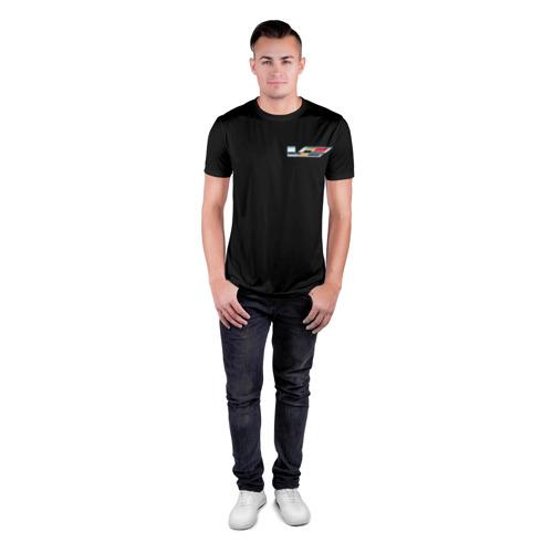 Мужская футболка 3D спортивная  Фото 04, Cadillac