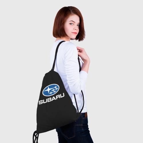 Рюкзак-мешок 3D  Фото 02, Subaru