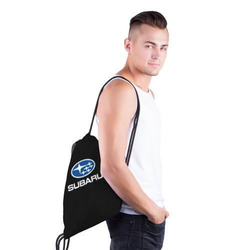 Рюкзак-мешок 3D  Фото 03, Subaru