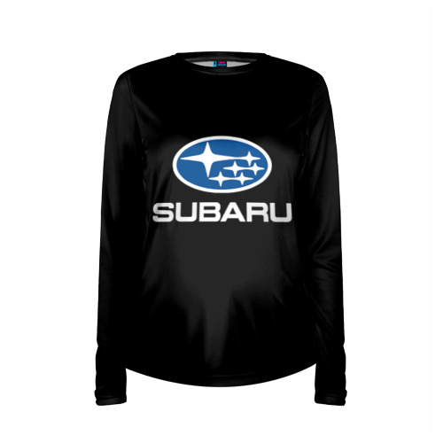 Женский лонгслив 3D для беременных  Фото 03, Subaru