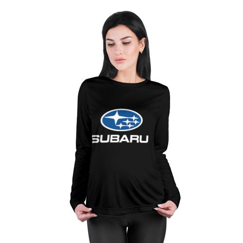 Женский лонгслив 3D для беременных  Фото 04, Subaru