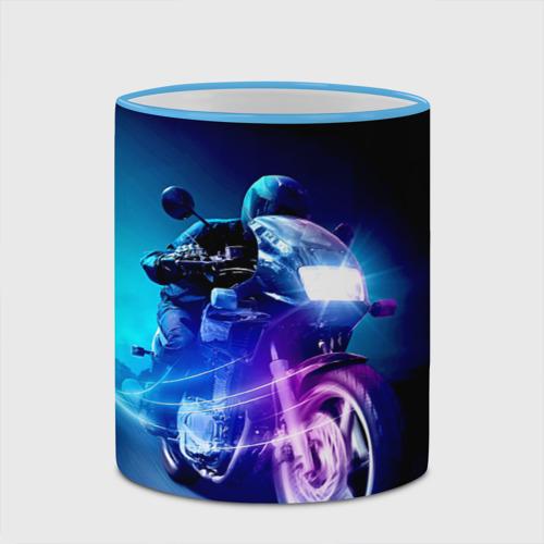 Кружка с полной запечаткой Мотоциклист Фото 01