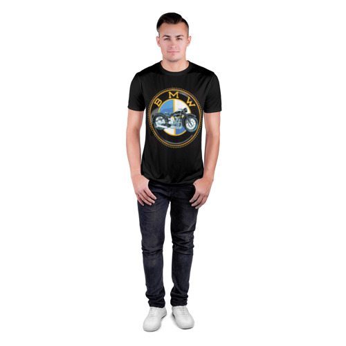 Мужская футболка 3D спортивная  Фото 04, BMW