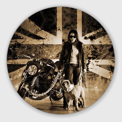Коврик для мышки круглый Bulldog Yamaha Фото 01