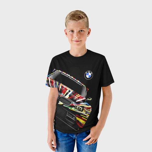 Детская футболка 3D BMW