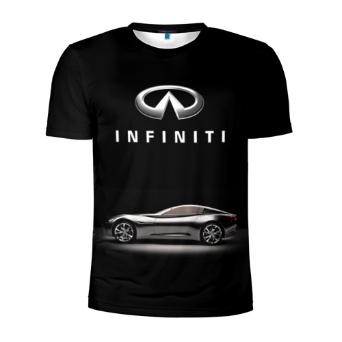 Мужская футболка 3D спортивная  Фото 01, Infiniti