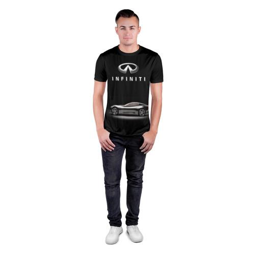 Мужская футболка 3D спортивная  Фото 04, Infiniti