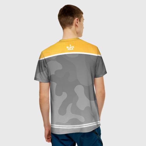 Мужская футболка 3D Black Milk Bitcoin - Биткоин Фото 01