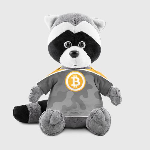 Енотик в футболке 3D Black Milk Bitcoin - Биткоин Фото 01