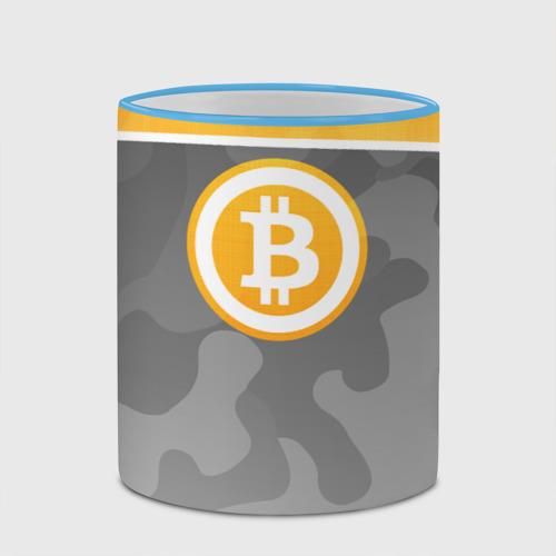 Кружка с полной запечаткой Black Milk Bitcoin - Биткоин Фото 01